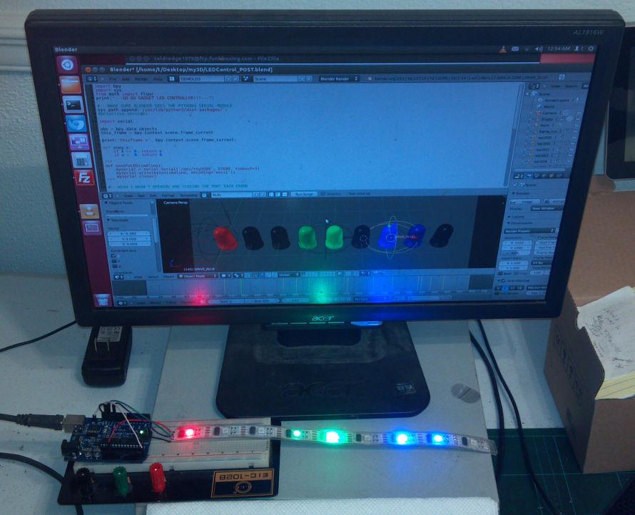Blender Arduino LED Control » funkboxing