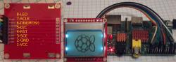 Raspberry Pi w/ Nokia 5110 LCD