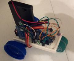FugBot - Bluetooth / Arduino Differential Wheeled Robot