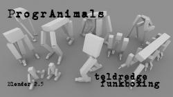 ProgrAnimals - A framework for physics based creatures